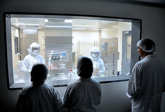 Medidas de segurança no laboratorio